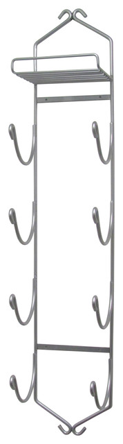 chrome wall mounted towel rack with shelf 39 large bath sheets made in usa