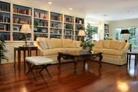 Woodland Hills Traditional Living Room Remodel
