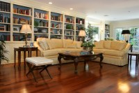 Woodland Hills Traditional Living Room Remodel ...