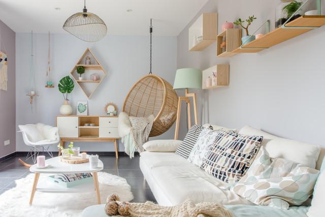 SLG chez Magali et Maxime contemporary-living-room
