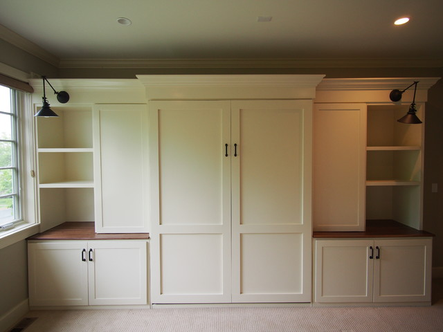 Custom Built-ins And Murphy Bed