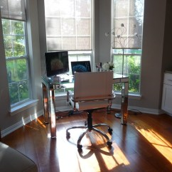 High Kitchen Table Set How To Care For Hardwood Floors In Work Space By Bay Window