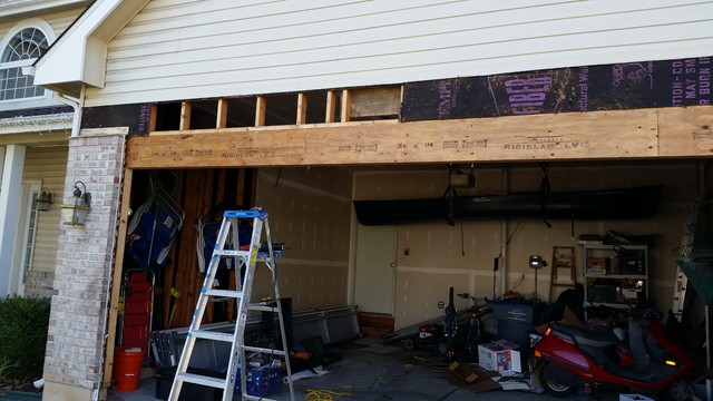 Garage Door Header Replacement Jobs  Traditional  St Louis  by Mister Fixit LLC