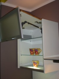 Top Cabinet with Vertical Lift Mechanism