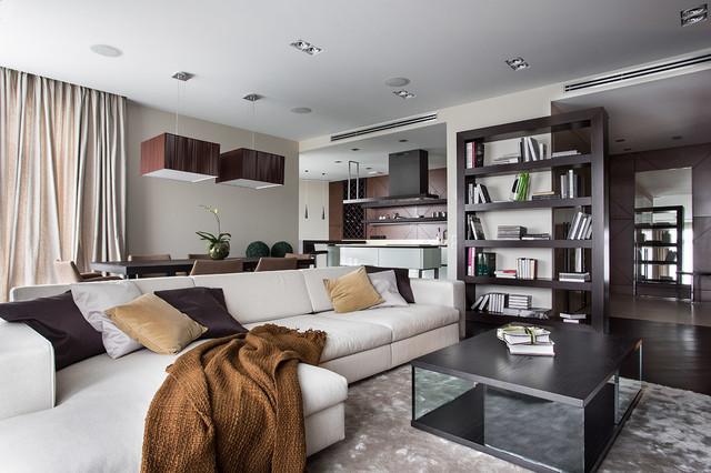 Flat in Kiev moderno-salon