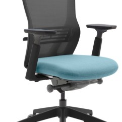 Task Chair Without Arms Swivel Ousby Contemporary Office Chairs By Allermuir Senator