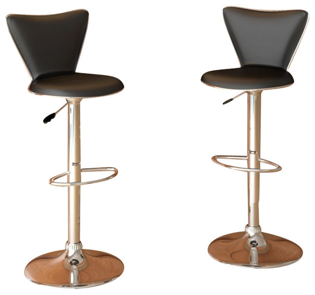 chair stool black theater chairs sonax corliving tall back bar stools leatherette set of 2