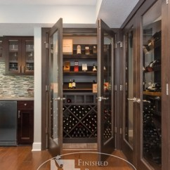 Sofas With Storage Under Nolan Chocolate Dual Reclining Sofa Basement Wine Cabinet - Modern Cellar ...