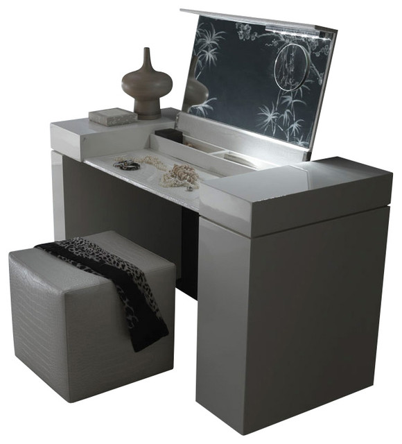 nightfly dressing table - modern - bedroom & makeup vanities - by