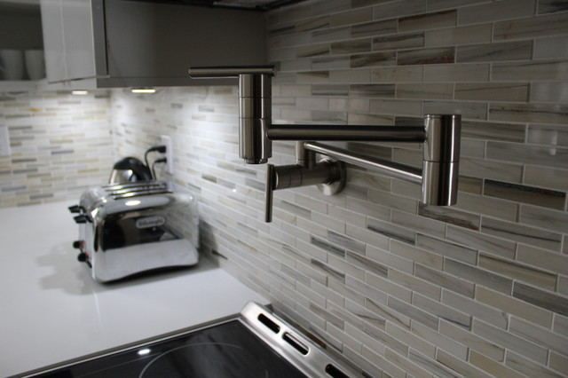 kitchen pot filler  Modern  Kitchen  Toronto  by cj5 design