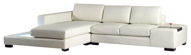 t35 mini modern white leather sectional sofa frame diy bonded with built in lighting
