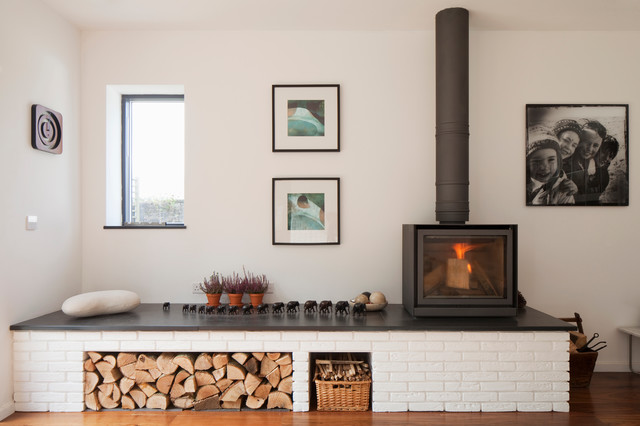 images of living rooms with wood burning stoves red and black room decor hidden house ashburton devon contemporary