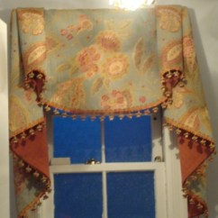 Elegant Kitchen Curtains Valances Stove Top Custom Window Treatments