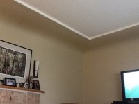 Coved ceilings with inset