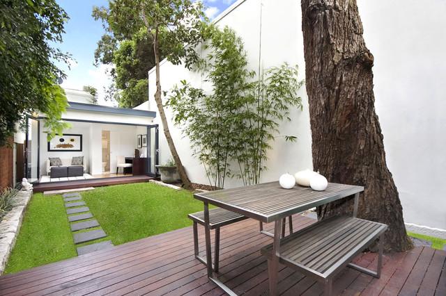 Gardens How To Design A Calming Minimalist Garden Houzz Uk