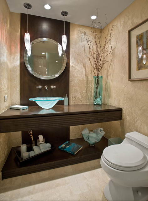 Modern Contemporary Powder Room