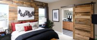 Reclaimed Wood Paneling - Contemporary - Bedroom - Boise ...
