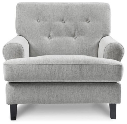 light grey chair cushions for office desk chairs hathaway armchair in tweed armchairs and accent by capsule home