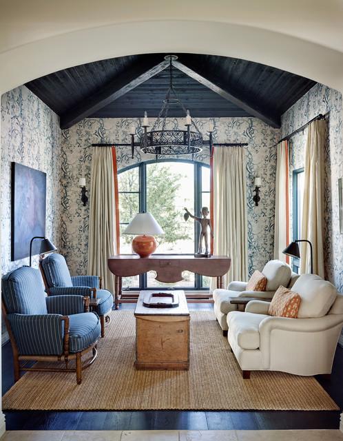 Arcadia Residence mediterranean-living-room