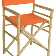Bamboo Directors Chairs Cheap Pine Dining Table And Director S Chair Set Of 2 Folding Stools By Zero Emission World