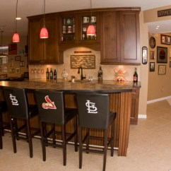 Louis Dining Chairs Lazy Boy Office Cardinals Basement - Traditional St By J.t. Mcdermott Remodeling