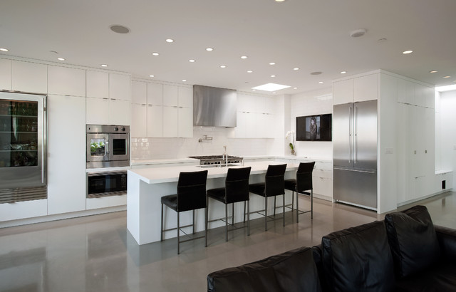 recessed lighting layout living room colorful furniture pioneer square condo - modern kitchen seattle by ...