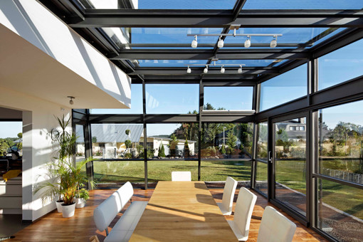Haus P1  Modern  Wintergarten  Nrnberg  von Achim Fischer Architekt