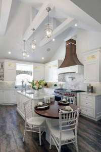 Vaulted Ceiling Kitchen, Rockville Centre 1404 - Farmhouse ...