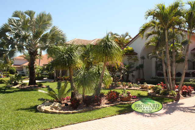 Tropical Landscaping Ideas For Front Yard The Gardening
