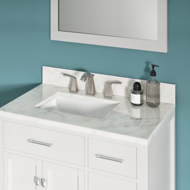 11 x15 x6 5 porcelain rectangular undermount bathroom vanity sink