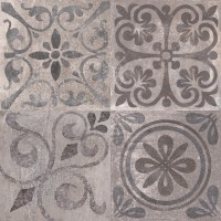 Patterned Feature Tiles - Antique Acero - Contemporary ...