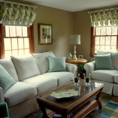 Window Treatment Ideas For Living Room China Cabinet In Updated Colonial Style Home - Traditional ...