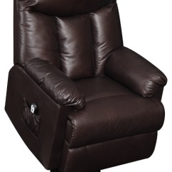 Wall Hugger Recliner Chair Covers N More Prolounger Renu Leather Transitional Chairs By Handy Living
