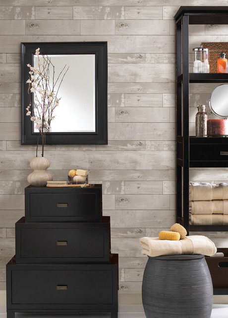 347 20131 Heim Distressed Wood Panel Faux Texture