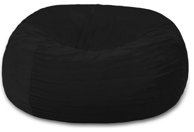 foam bean bag chair haworth office 8ft comfy sack memory contemporary chairs by sacks