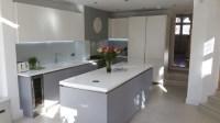 Modern Grey & White Handles Kitchen by Schmidt Barnet ...