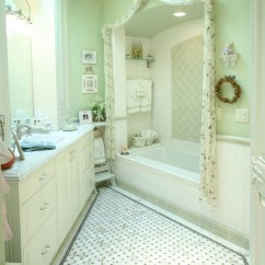 Hanging Ceiling Chair Wheelchair Meaning Traditional Green And White Bathroom - San Diego By Steigerwald ...