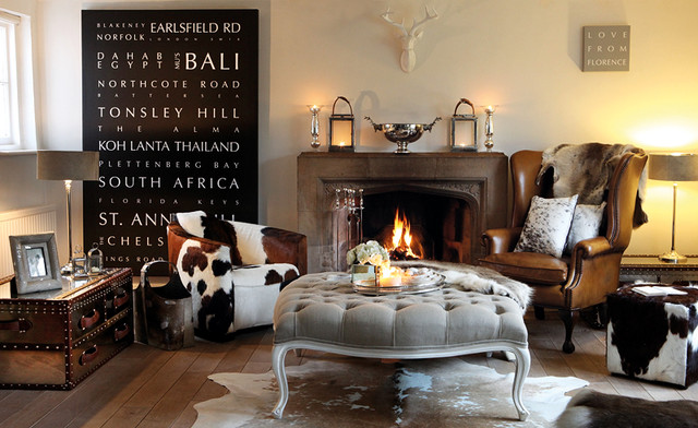 Cowhide & Leather Furniture