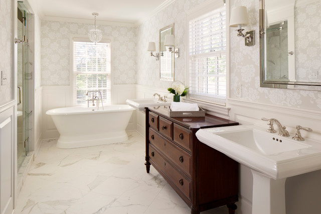 Classic 1940s Whole House Remodel  Traditional  Bathroom  Milwaukee  by Bartelt The