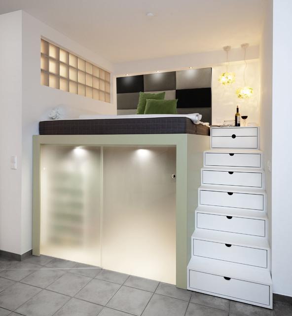 Hochbett mit Stauraum  Modern  Schlafzimmer  Bremen  von schulzrooms