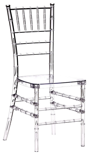 clear chiavari chairs disposable chair covers amazon polycarbonate crystal set of 4 armchairs