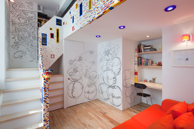 Marks Residence contemporary-kids