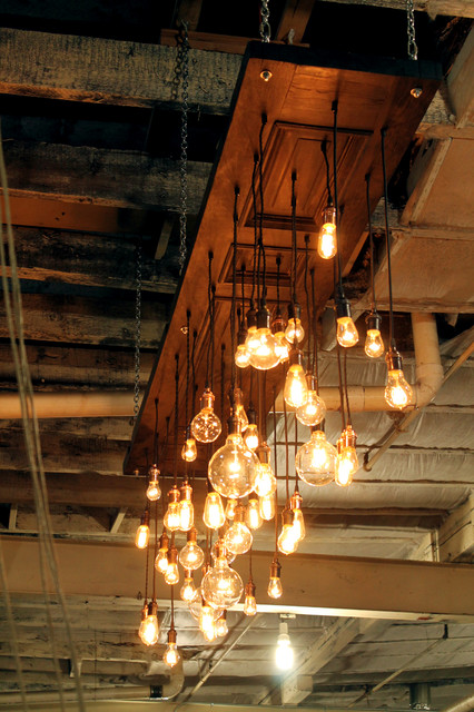 flush kitchen lighting cabinet trim installation antique door repurposed into chandelier - industrial ...