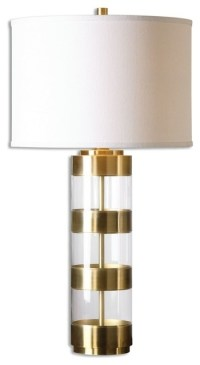 Banded Brass Table Lamp - Contemporary - Table Lamps - by ...