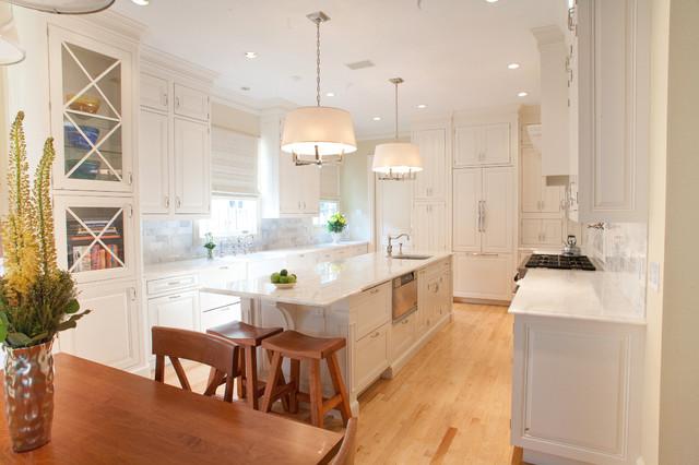 Cape Cod White Kitchen