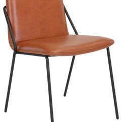 Leather Sling Chairs John Lewis Garden Chair Covers Upholstered Brown Transitional Armchairs And Accent By Nuans Design