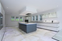 Island ceiling extractor - Contemporary - Kitchen - London ...