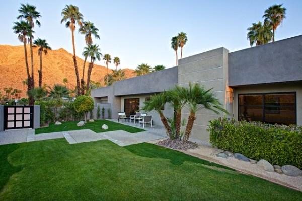 pool home remodel in palm springs