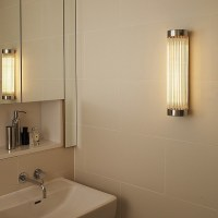 Pillar Wall Light 7211 Chrome