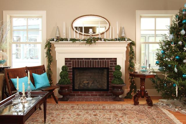 Linden Hills Farmhouse farmhouse-living-room